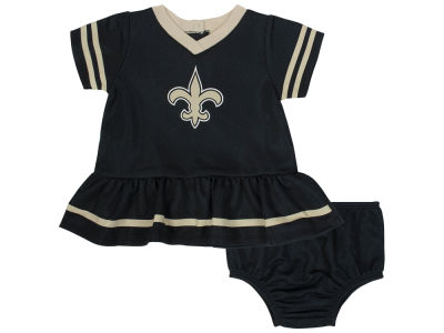 New Orleans Saints Gerber NFL Newborn Girls Dazzle Dress