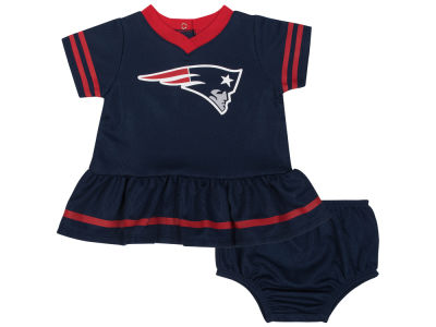 New England Patriots Gerber NFL Newborn Girls Dazzle Dress