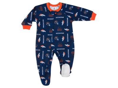 Denver Broncos Gerber NFL Newborn Blanket Sleeper Onesie 9cbf3cc57