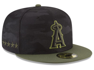 Los Angeles Angels New Era 2018 MLB Memorial Day 59FIFTY Cap