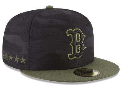 Boston Red Sox New Era 2018 MLB Memorial Day 59FIFTY Cap