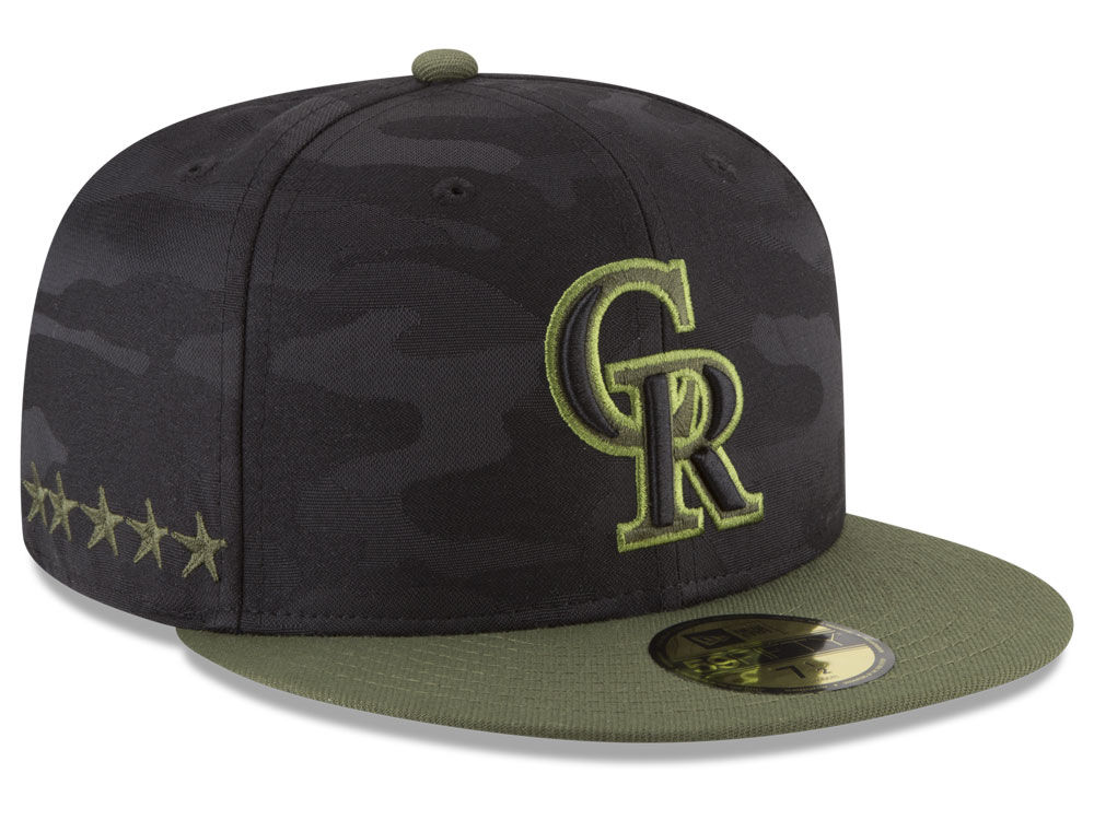 meet 1b004 b148c ... shop colorado rockies new era 2018 mlb memorial day 59fifty cap 56040  eefa4