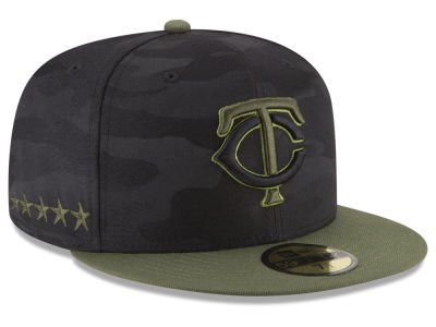 Minnesota Twins New Era 2018 MLB Memorial Day 59FIFTY Cap