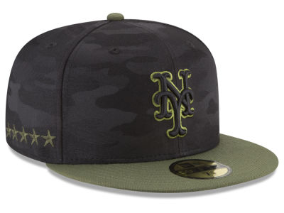 New York Mets New Era 2018 MLB Memorial Day 59FIFTY Cap