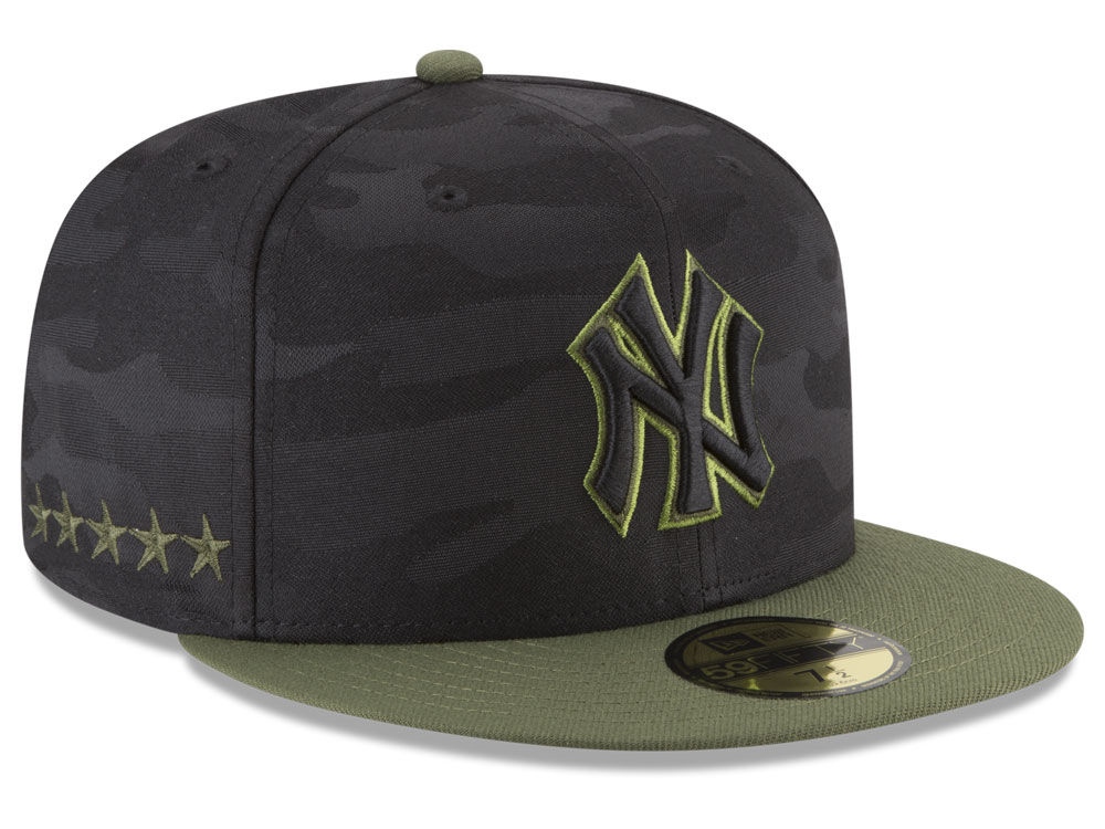 New York Yankees New Era 2018 MLB Memorial Day 59FIFTY Cap  621afea2fa52