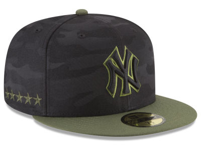 New York Yankees New Era 2018 MLB Memorial Day 59FIFTY Cap b3071fdc08c4