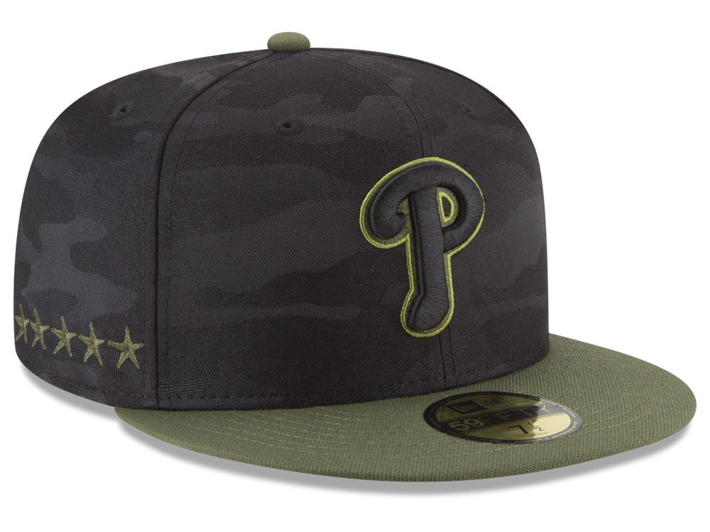 Philadelphia Phillies New Era 2018 MLB Memorial Day 59FIFTY Cap ... e218075f3c7