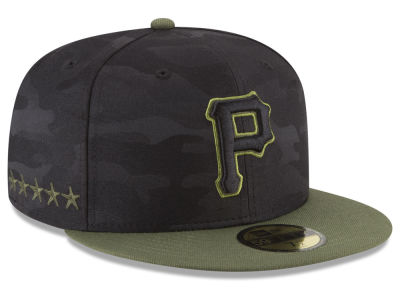 Pittsburgh Pirates New Era 2018 MLB Memorial Day 59FIFTY Cap