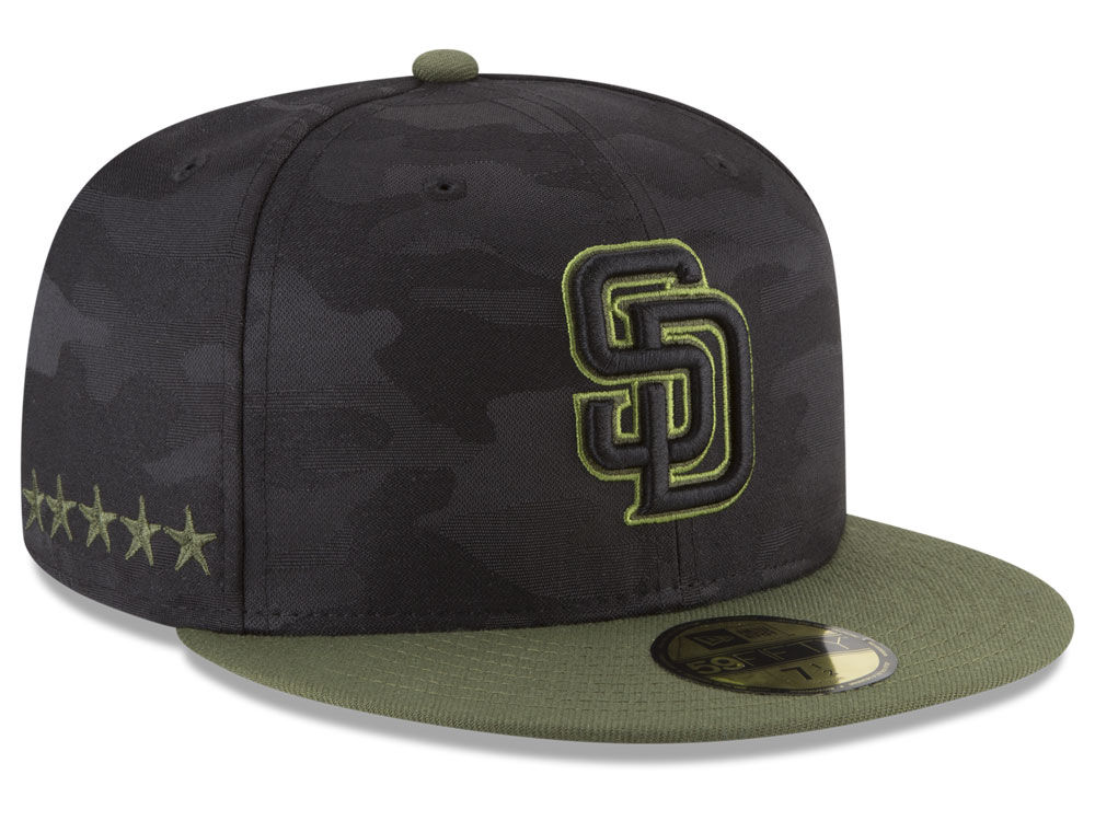 6527baa4 ... new zealand san diego padres new era 2018 mlb memorial day 59fifty cap  a673a 87ad6