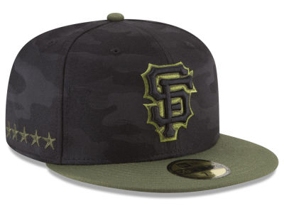 San Francisco Giants New Era 2018 MLB Memorial Day 59FIFTY Cap