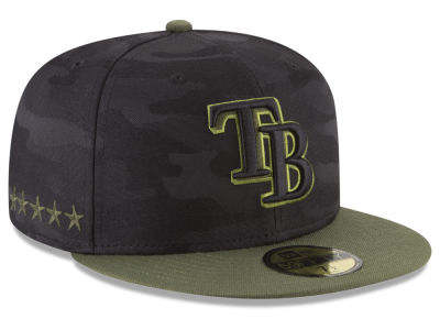 Tampa Bay Rays New Era 2018 MLB Memorial Day 59FIFTY Cap