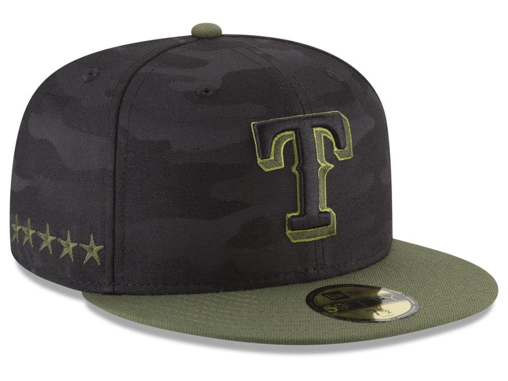 Texas Rangers New Era 2018 MLB Memorial Day 59FIFTY Cap  9f83ec80704