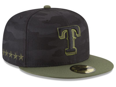 Texas Rangers New Era 2018 MLB Memorial Day 59FIFTY Cap
