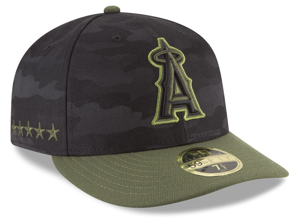 pretty nice a12d9 53db1 ... france los angeles angels new era 2018 mlb memorial day low profile  59fifty cap a25ca 335e1