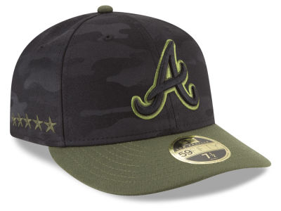 Atlanta Braves New Era 2018 MLB Memorial Day Low Profile 59FIFTY Cap