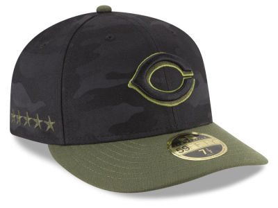 Cincinnati Reds New Era 2018 MLB Memorial Day Low Profile 59FIFTY Cap