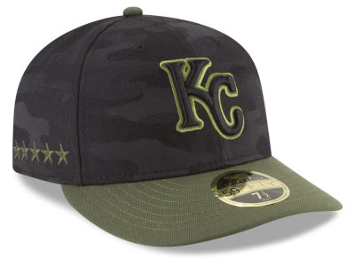 Kansas City Royals New Era 2018 MLB Memorial Day Low Profile 59FIFTY Cap