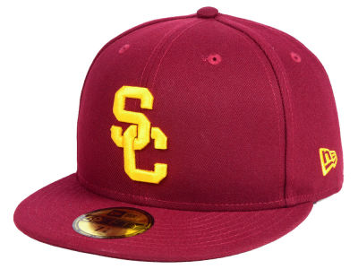 f566e3a4ee8 USC Trojans New Era NCAA AC 59FIFTY Cap