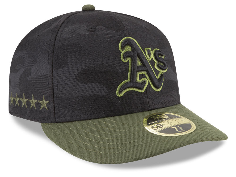 reputable site 4e46e 17d5f ... ireland oakland athletics new era 2018 mlb memorial day low profile  59fifty cap 5444c dee00