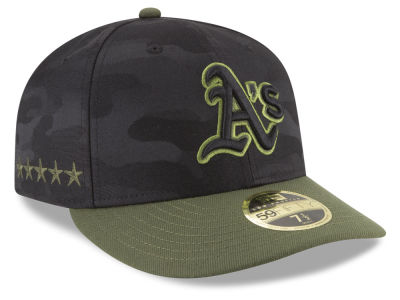 Oakland Athletics New Era 2018 MLB Memorial Day Low Profile 59FIFTY Cap