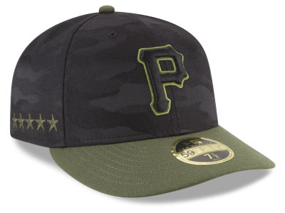 Pittsburgh Pirates New Era 2018 MLB Memorial Day Low Profile 59FIFTY Cap
