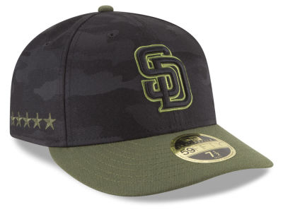 San Diego Padres New Era 2018 MLB Memorial Day Low Profile 59FIFTY Cap