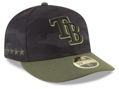 Tampa Bay Rays New Era 2018 MLB Memorial Day Low Profile 59FIFTY Cap