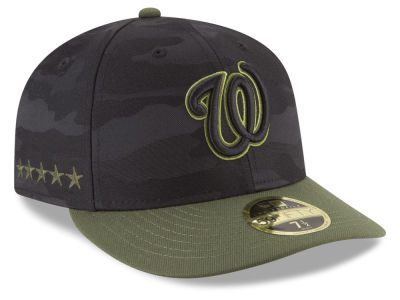 Washington Nationals New Era 2018 MLB Memorial Day Low Profile 59FIFTY Cap