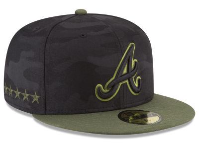 Atlanta Braves New Era 2018 MLB Kids Memorial Day 59FIFTY Cap