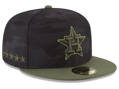 Houston Astros New Era 2018 MLB Kids Memorial Day 59FIFTY Cap