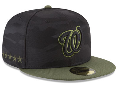 Washington Nationals New Era 2018 MLB Kids Memorial Day 59FIFTY Cap