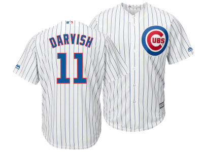 Chicago Cubs Yu Darvish Majestic MLB Men's Player Replica Cool Base Jersey