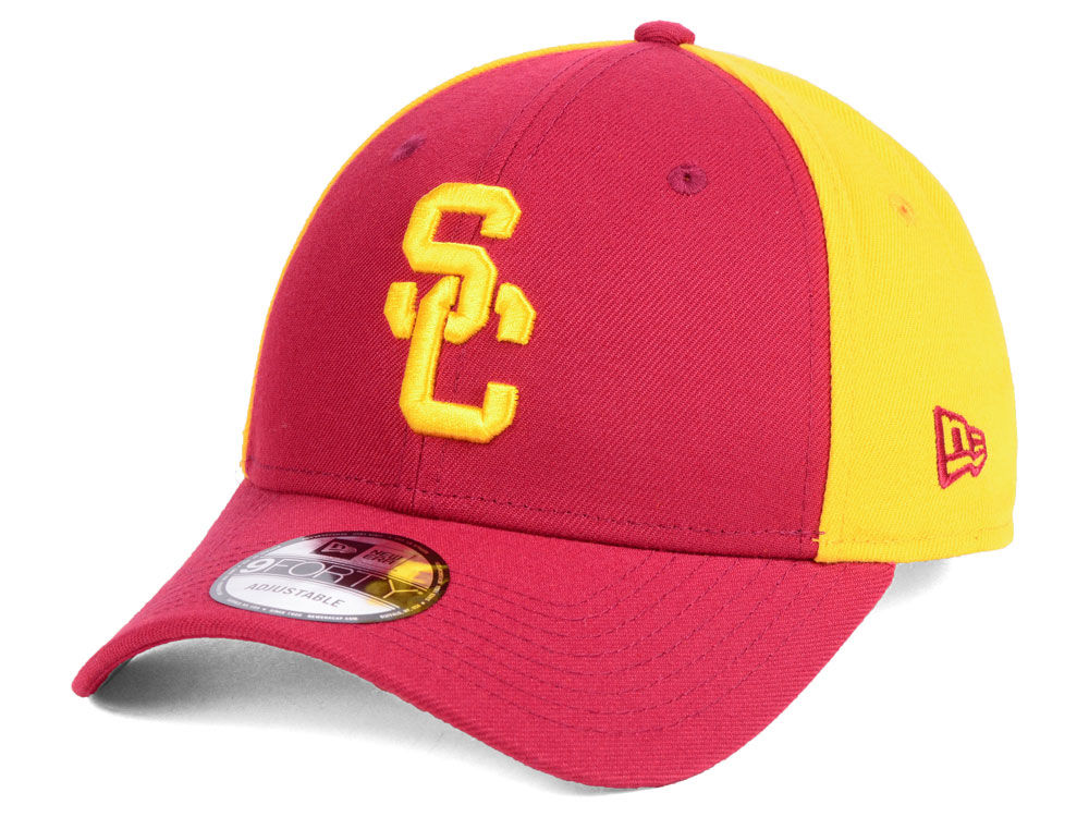 2411b54ad8f15 USC Trojans DCM NCAA Blocked Team 9FORTY Cap