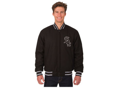 Chicago White Sox JH Design MLB Men's All Wool Reversible Jacket