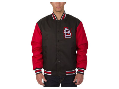 St. Louis Cardinals JH Design MLB Men's PolyTwill Jacket
