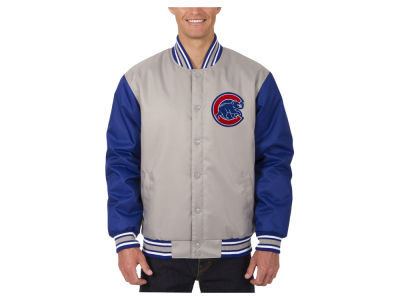 Chicago Cubs JH Design MLB Men's PolyTwill Jacket