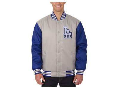 Los Angeles Dodgers JH Design MLB Men's PolyTwill Jacket