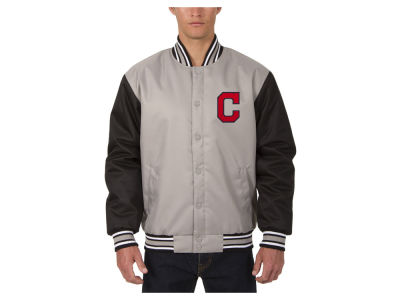 Cleveland Indians JH Design MLB Men's PolyTwill Jacket