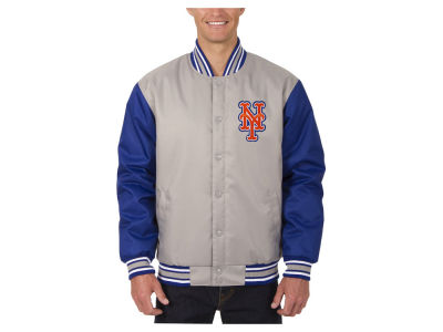 New York Mets JH Design MLB Men's PolyTwill Jacket
