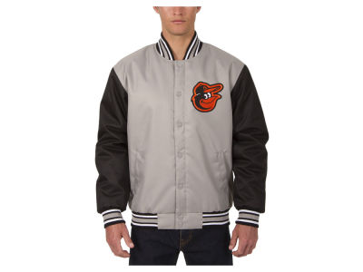 Baltimore Orioles JH Design MLB Men's PolyTwill Jacket