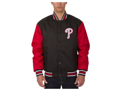 Philadelphia Phillies JH Design MLB Men's PolyTwill Jacket