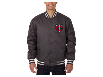Minnesota Twins JH Design MLB Men's PolyTwill Jacket