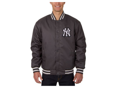 New York Yankees JH Design MLB Men's PolyTwill Jacket