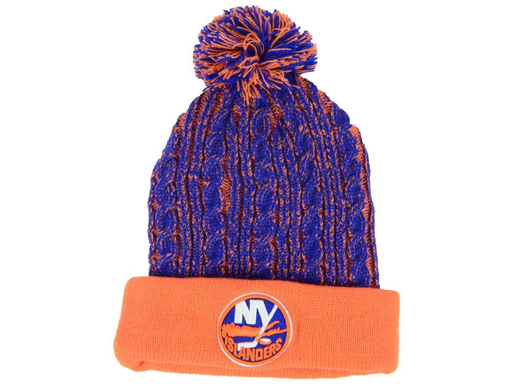 609dedd09e4 ... cuffed pom knit e3082 ce6c6  amazon new york islanders nhl womens  iconic ace knit 8410a b5587