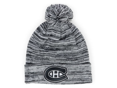 Montreal Canadiens NHL Black White Cuffed Pom