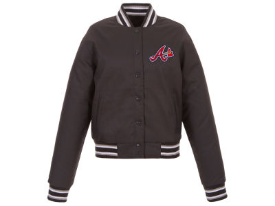 Atlanta Braves JH Design MLB Women's Polytwill Jacket