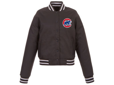 Chicago Cubs JH Design MLB Women's Polytwill Jacket