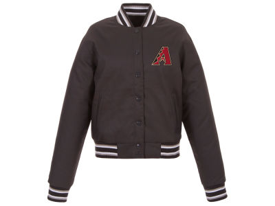 Arizona Diamondbacks JH Design MLB Women's Polytwill Jacket