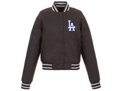 Los Angeles Dodgers JH Design MLB Women's Polytwill Jacket