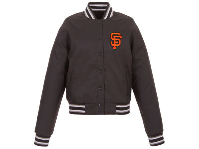 San Francisco Giants JH Design MLB Women's Polytwill Jacket